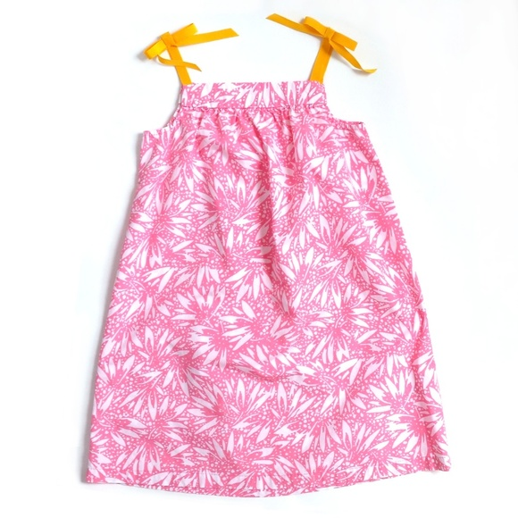 Hanna Andersson Other - Hanna Andersson Sun Dress w/Ribbon Bow Straps